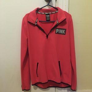 Victoria's Secret PINK Fleece Half ZIP